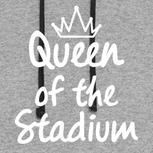 Queen of the Stadium - Colorblock Hoodie