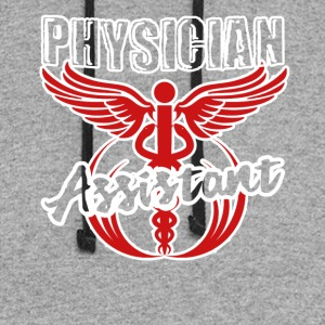Physician Assistant Tee Shirt - Colorblock Hoodie
