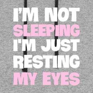 I'm Not Sleeping, I'm just Resting My Eyes - Colorblock Hoodie