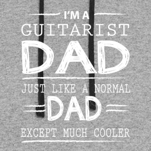 I'm Guitarist Dad T Shirt - Colorblock Hoodie