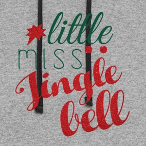 Little miss jingle bell - Colorblock Hoodie