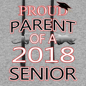 Proud Parent Of A 2018 Senior - Colorblock Hoodie