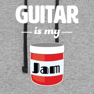 Guitar is my Jam - Colorblock Hoodie