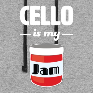 Cello is my Jam - Colorblock Hoodie