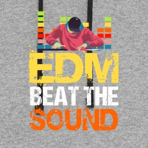 EDM Beat The Sound - Colorblock Hoodie