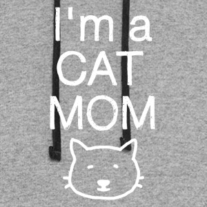 I'm Cat Mom - And i like it that way! - Colorblock Hoodie