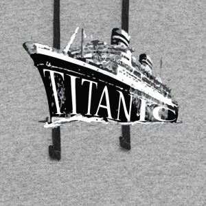 Titanic Historical Graphic Tee Shirt - Colorblock Hoodie