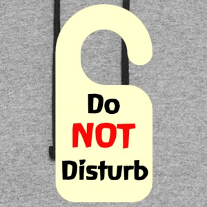 Do Not Disturb Tag - Colorblock Hoodie