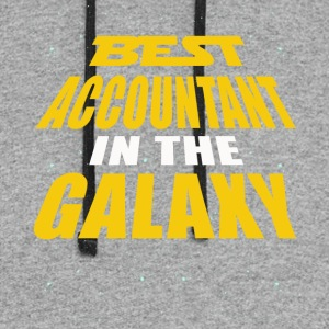Best Accountant In The Galaxy - Colorblock Hoodie