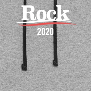 Rock For President - Colorblock Hoodie