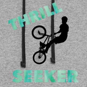 Thrill Seeker - Colorblock Hoodie