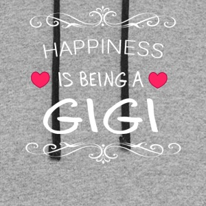 Happiness Is Being a GIGI - Colorblock Hoodie