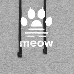 cat meow classic shirt tshirt t shirt - Colorblock Hoodie