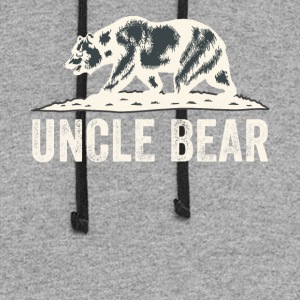 Uncle bear - Colorblock Hoodie
