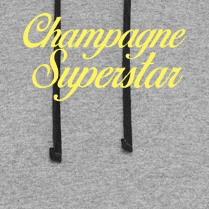 Champagne Superstar - Colorblock Hoodie