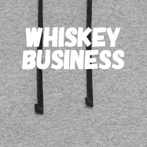 Whiskey business - Colorblock Hoodie