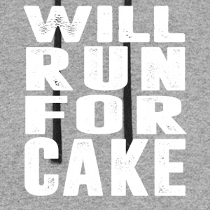 Will Run For CAKE T-Shirt - Colorblock Hoodie