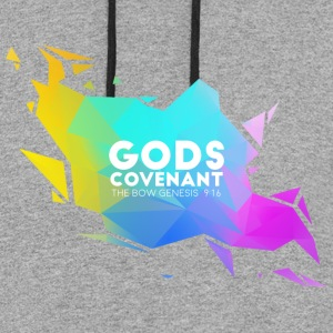 Gods Covenant V3 - Colorblock Hoodie