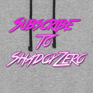 Subscribe To ShadoxZero - Colorblock Hoodie