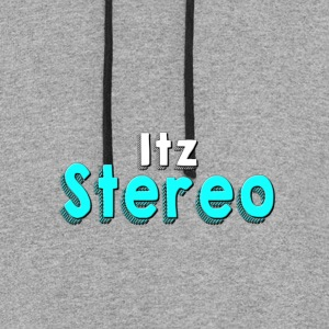 Itz Stereo Lettering - Colorblock Hoodie