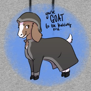 Magical The Goat - Colorblock Hoodie