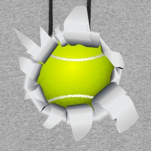 Tennis Ball Hole - Colorblock Hoodie