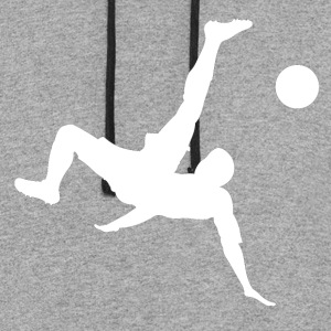 Bicycle Kick Soccer - Colorblock Hoodie