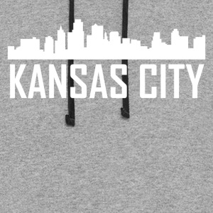 Kansas City Kansas City Skyline - Colorblock Hoodie