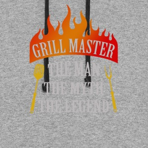 Grill Master The Man The Myth The Legend - Colorblock Hoodie