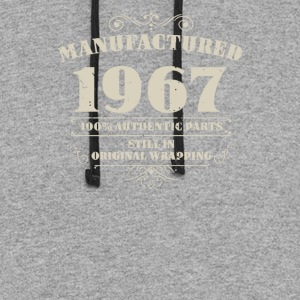 Manufactured 1967 - Colorblock Hoodie
