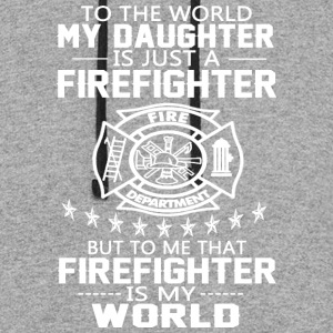 MY DAUGHTER IS FIREFIGHTER T Shirt - Colorblock Hoodie