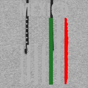 Big Mexican American Flag - Colorblock Hoodie