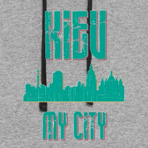 KIEV MY CITY - Colorblock Hoodie