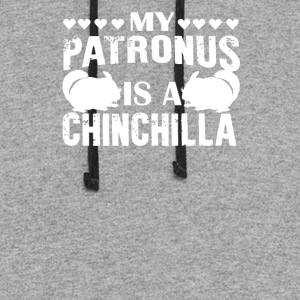 My Patronus Is A Chinchilla - Colorblock Hoodie