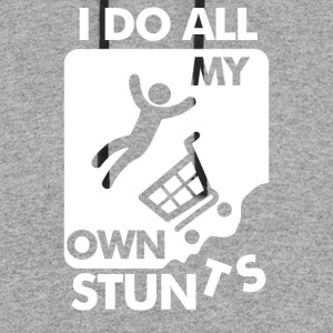 Do All My Own Stunts - Colorblock Hoodie