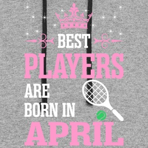 Best Players Are Born In April - Colorblock Hoodie