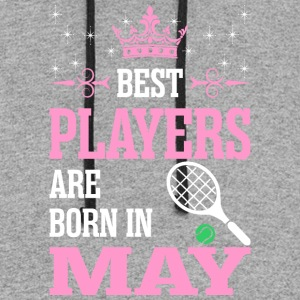 Best Players Are Born In May - Colorblock Hoodie