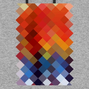 Colourful Pattern - Colorblock Hoodie