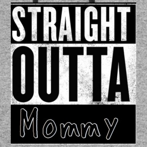 Straight outta mommy - Colorblock Hoodie