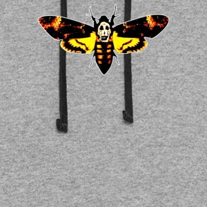 Silence Of The Lambs Butterfly Moth - Colorblock Hoodie
