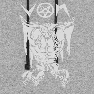 Von - Satanic Blood Angel - Colorblock Hoodie