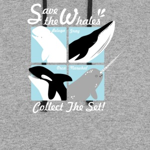 Save The Whales - Colorblock Hoodie