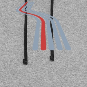 Parallel Perspective - Colorblock Hoodie