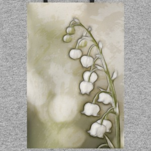 Lily of the Valley Flowers Sketch - Colorblock Hoodie