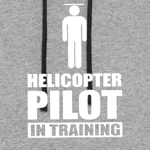 Helicopter Pilot In Training - Colorblock Hoodie
