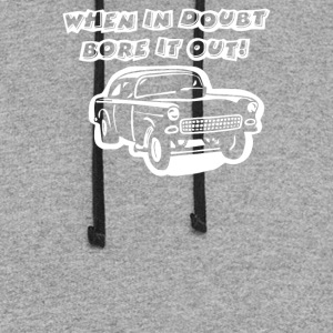 CHEVY GASSER RAT ROD - Colorblock Hoodie