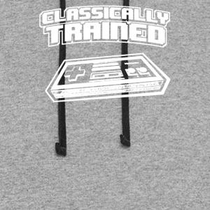 Classically Trained Video Game Console - Colorblock Hoodie