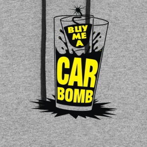 Bomb Me A Car Bomb System - Colorblock Hoodie
