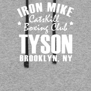 Iron Mike Tyson Catskill Boxing Club - Colorblock Hoodie