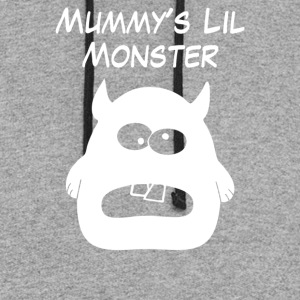 Mummys Little Monster - Colorblock Hoodie